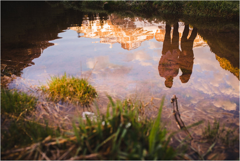 Maroon Bells Reflection photo