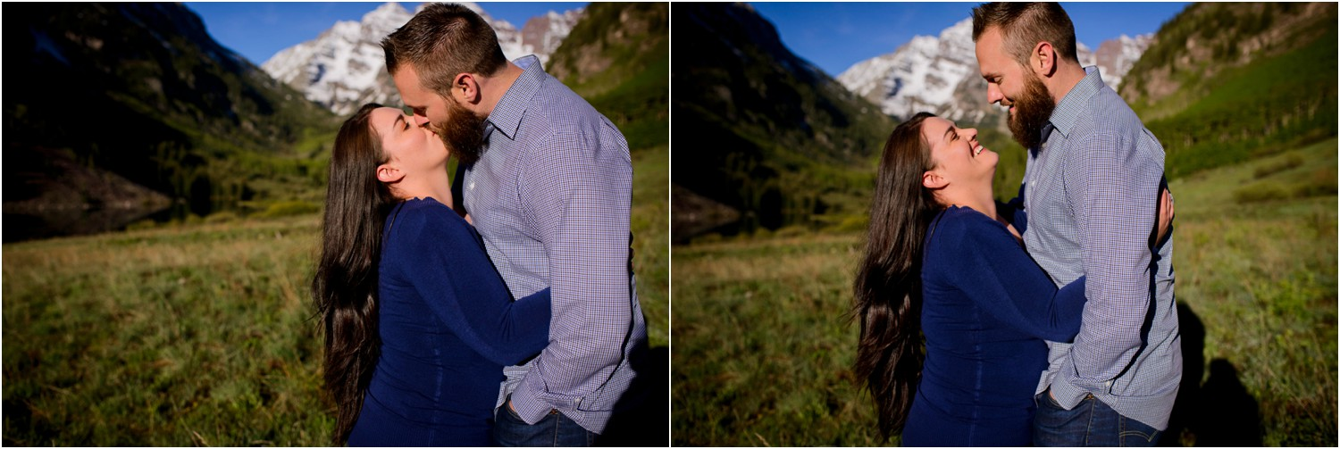 candid colorado engagement photography