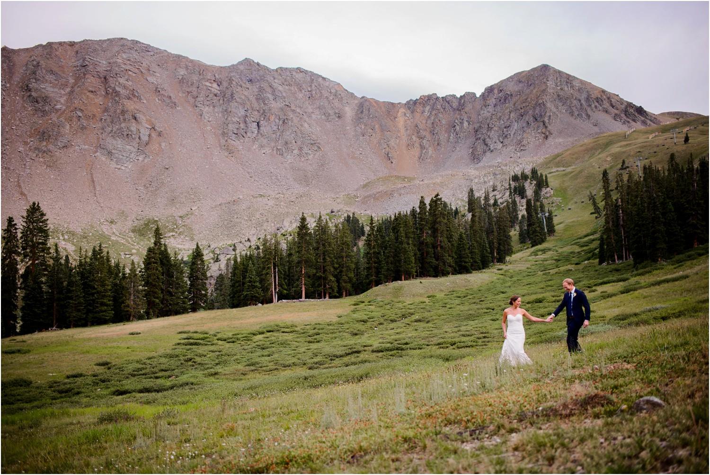 Black mountain lodge sunset Wedding Photography