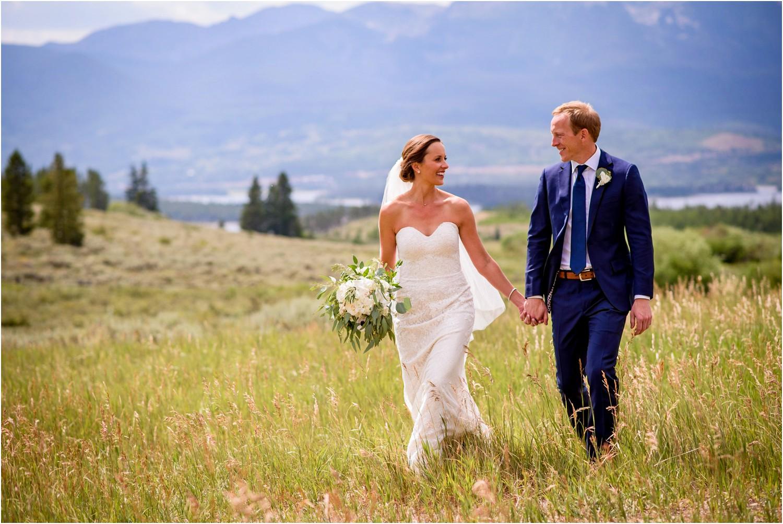 Colorado wedding Photography at Lake Dillon