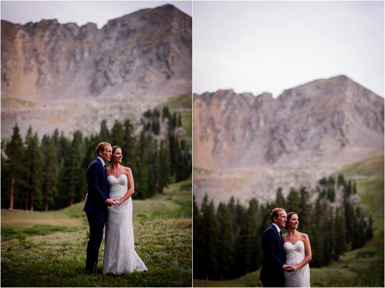 Arapahoe Basin Sunset wedding photography
