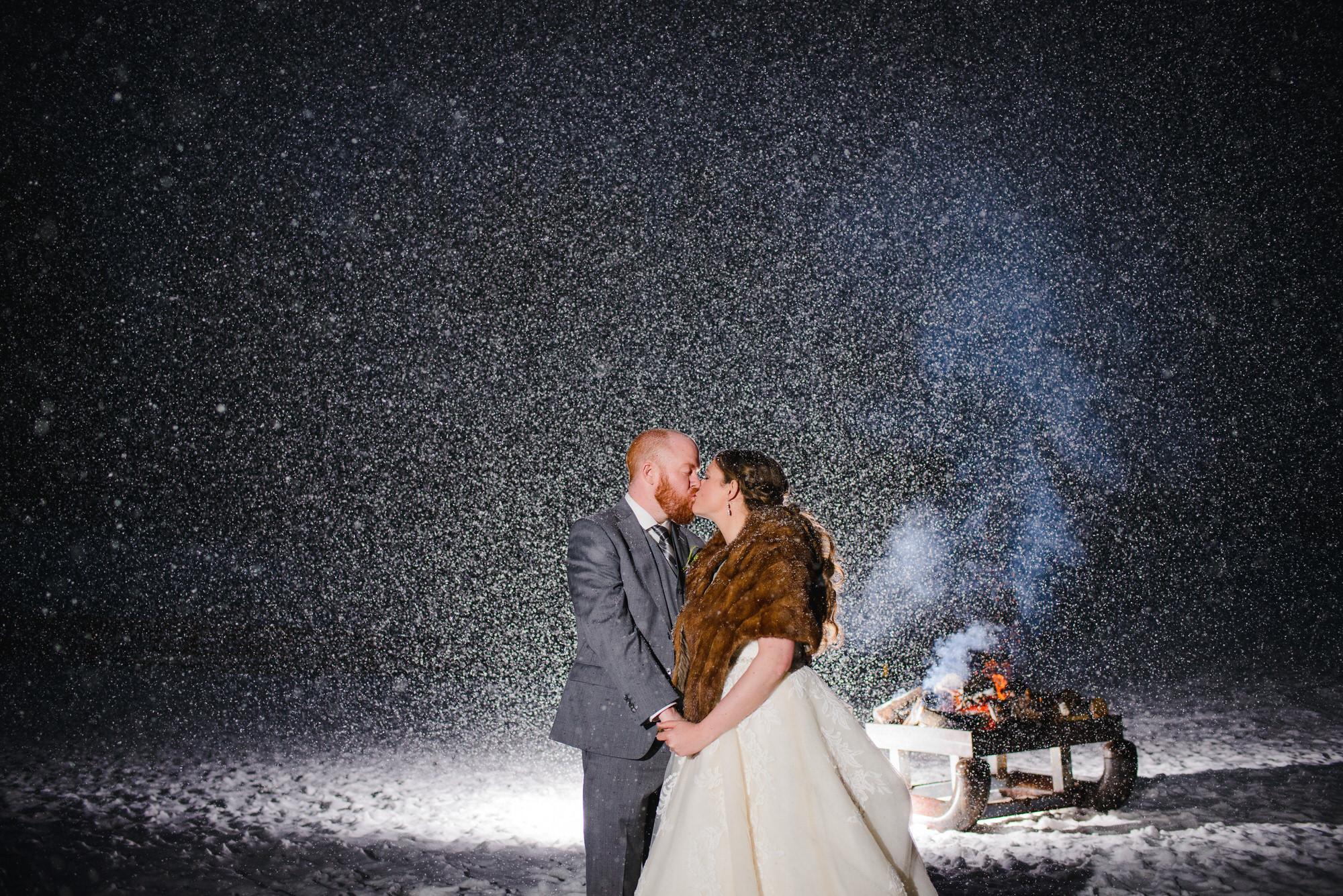 Copy of Aspen Colorado snowy Winter Wedding photo