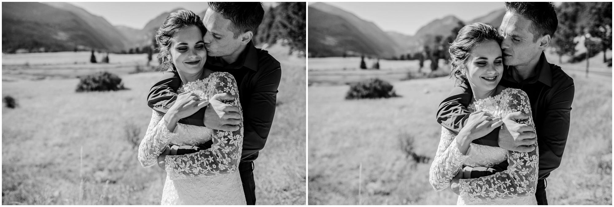 Colorado elopement Photos in Estes Park