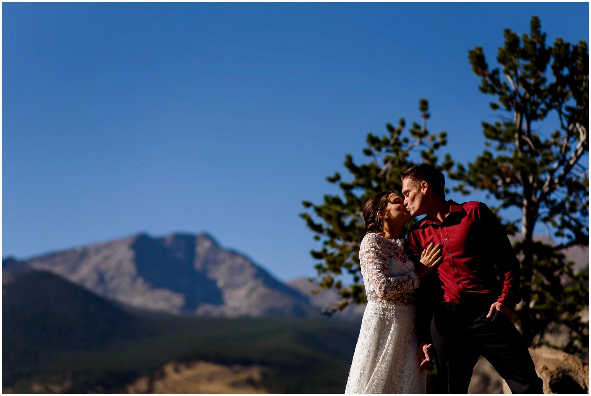 Estes Park wedding portraits