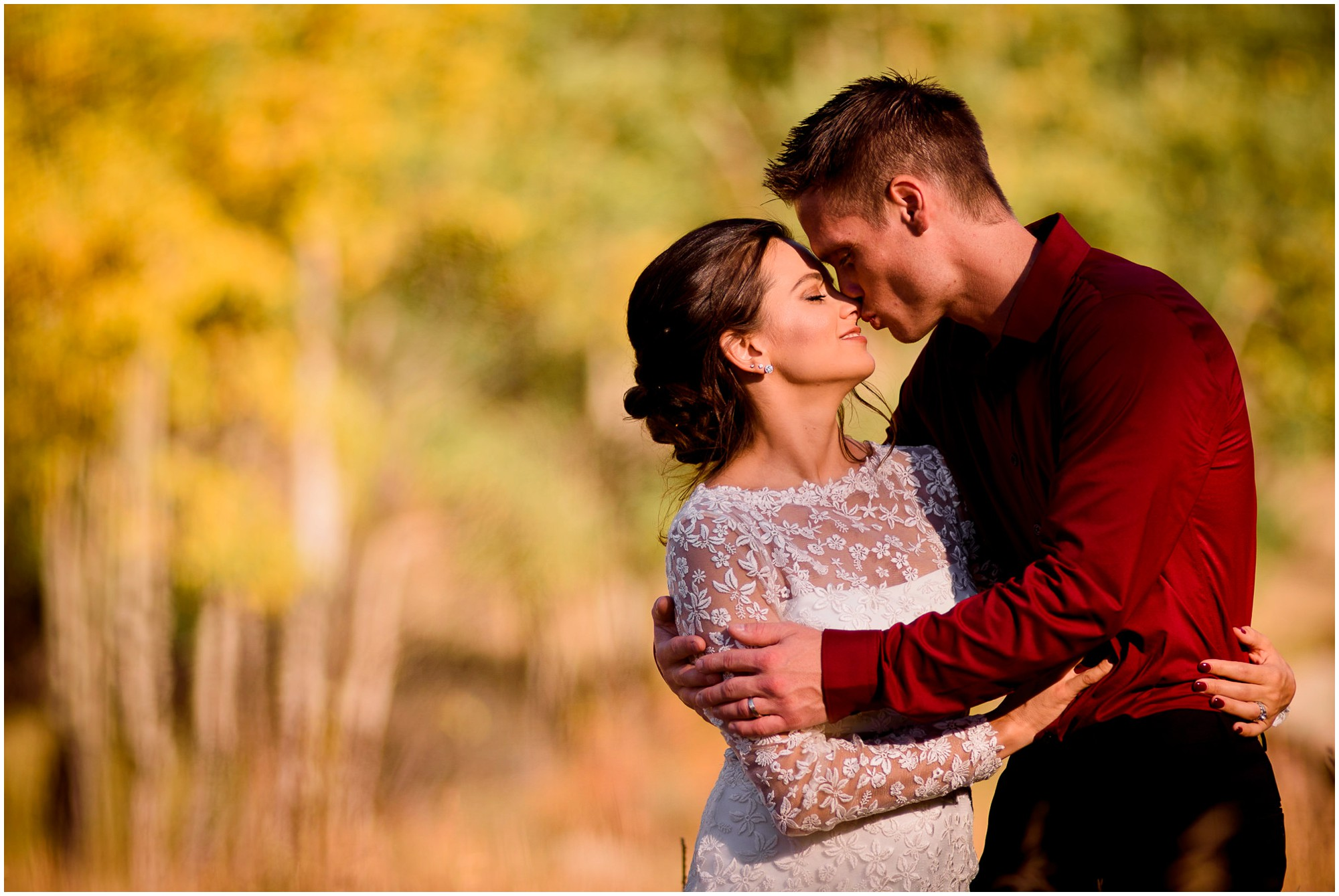 Estes Park wedding in the Fall