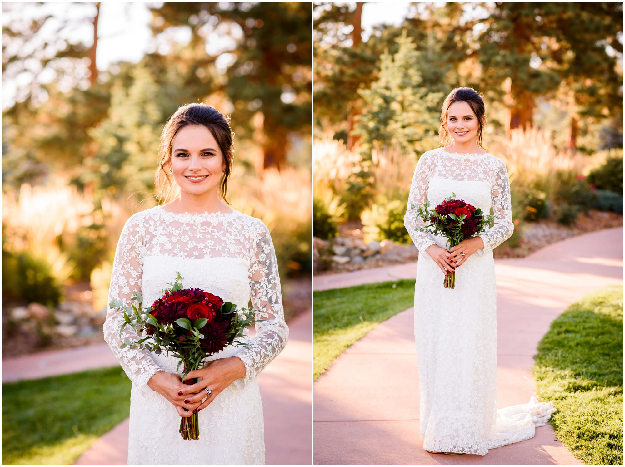 Bride photo at The Stanley Hotel