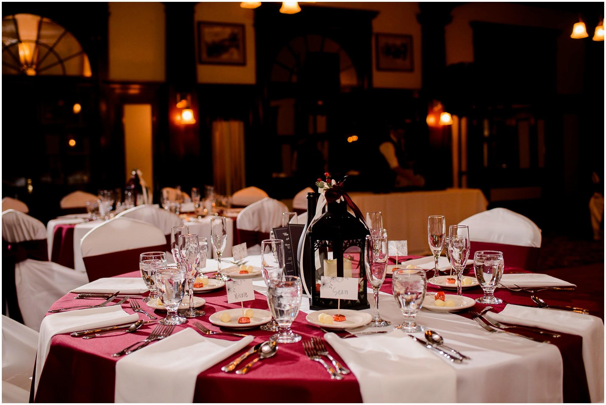 Stanley hotel Wedding Dinner