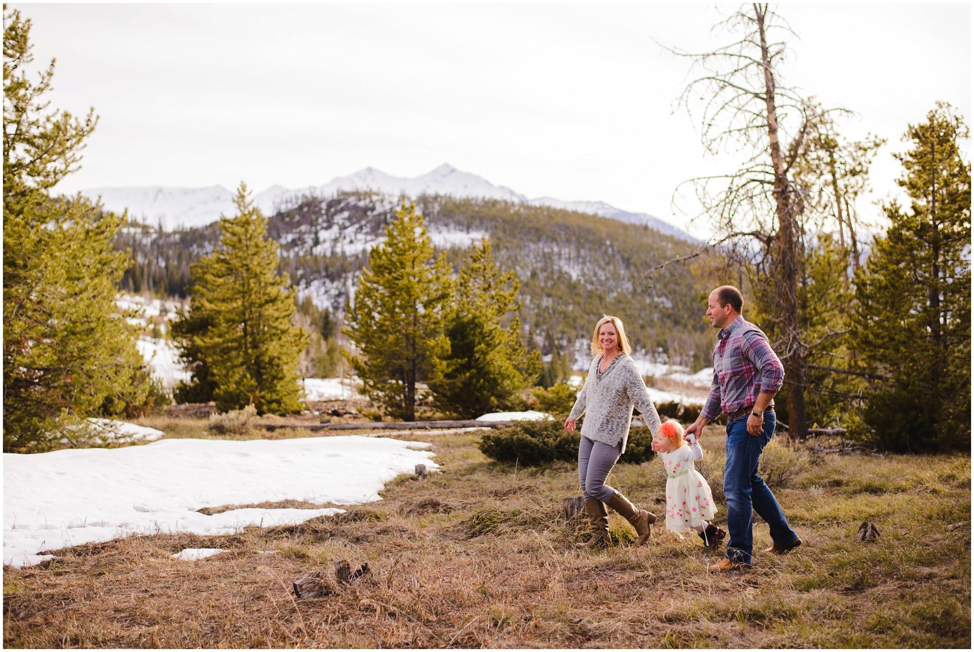Breckenridge Winter family photo