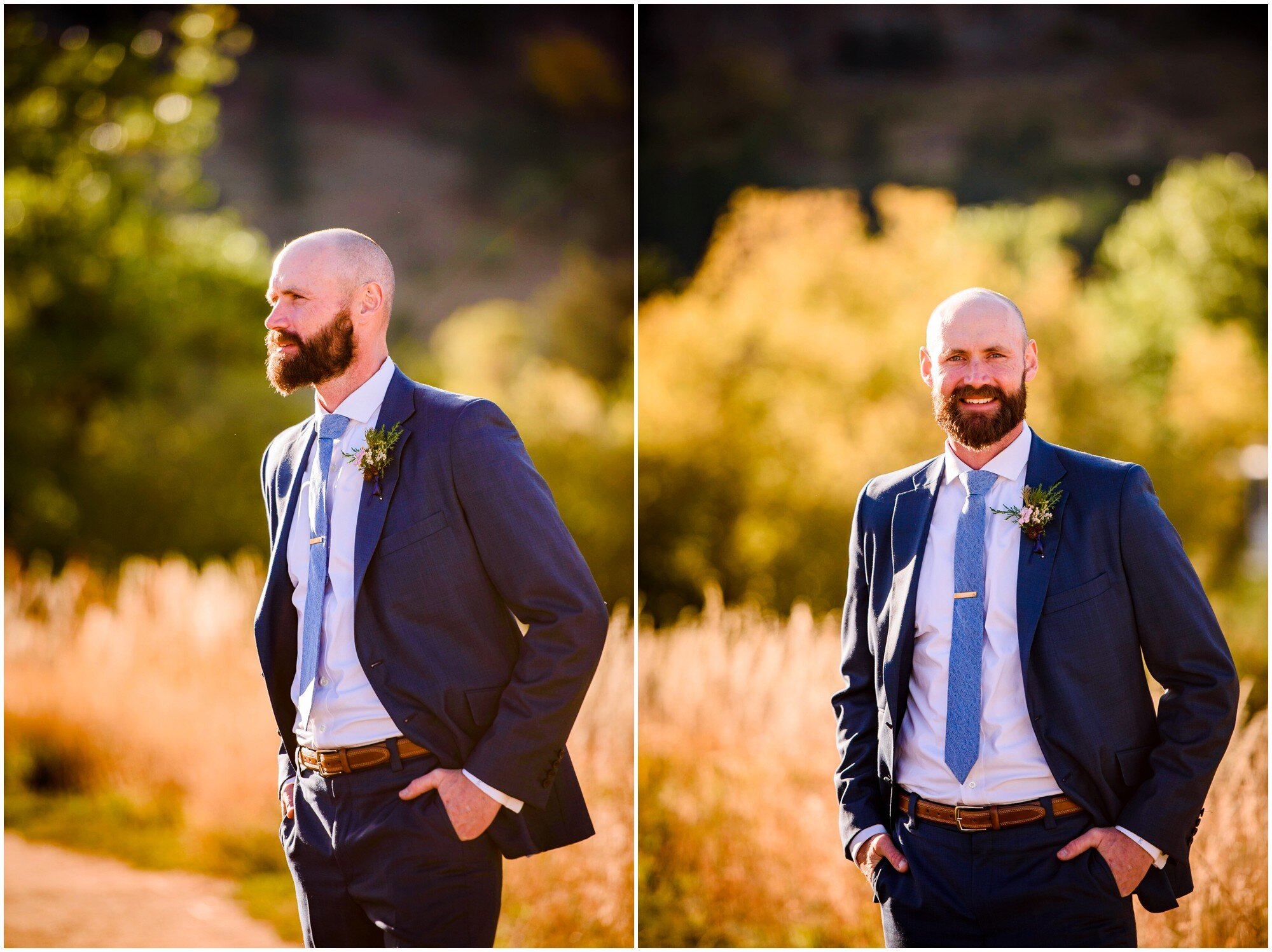Colorado Groom portrait