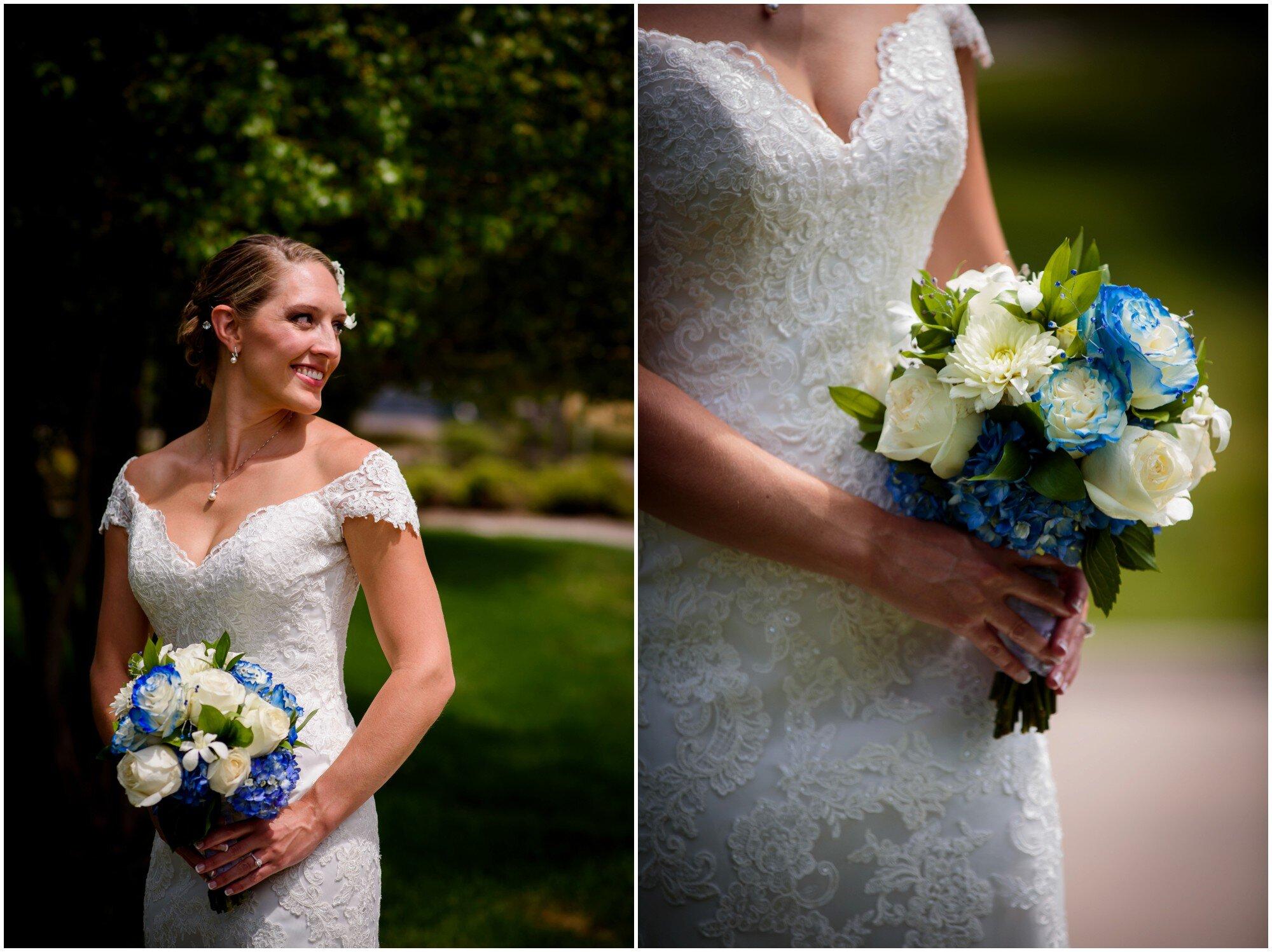 colorado bridal portrait