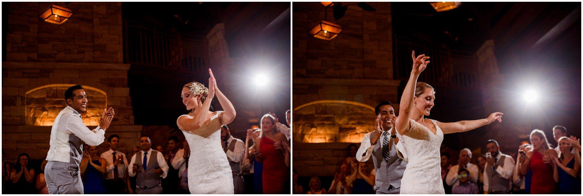 first wedding dance salsa in denver colorado