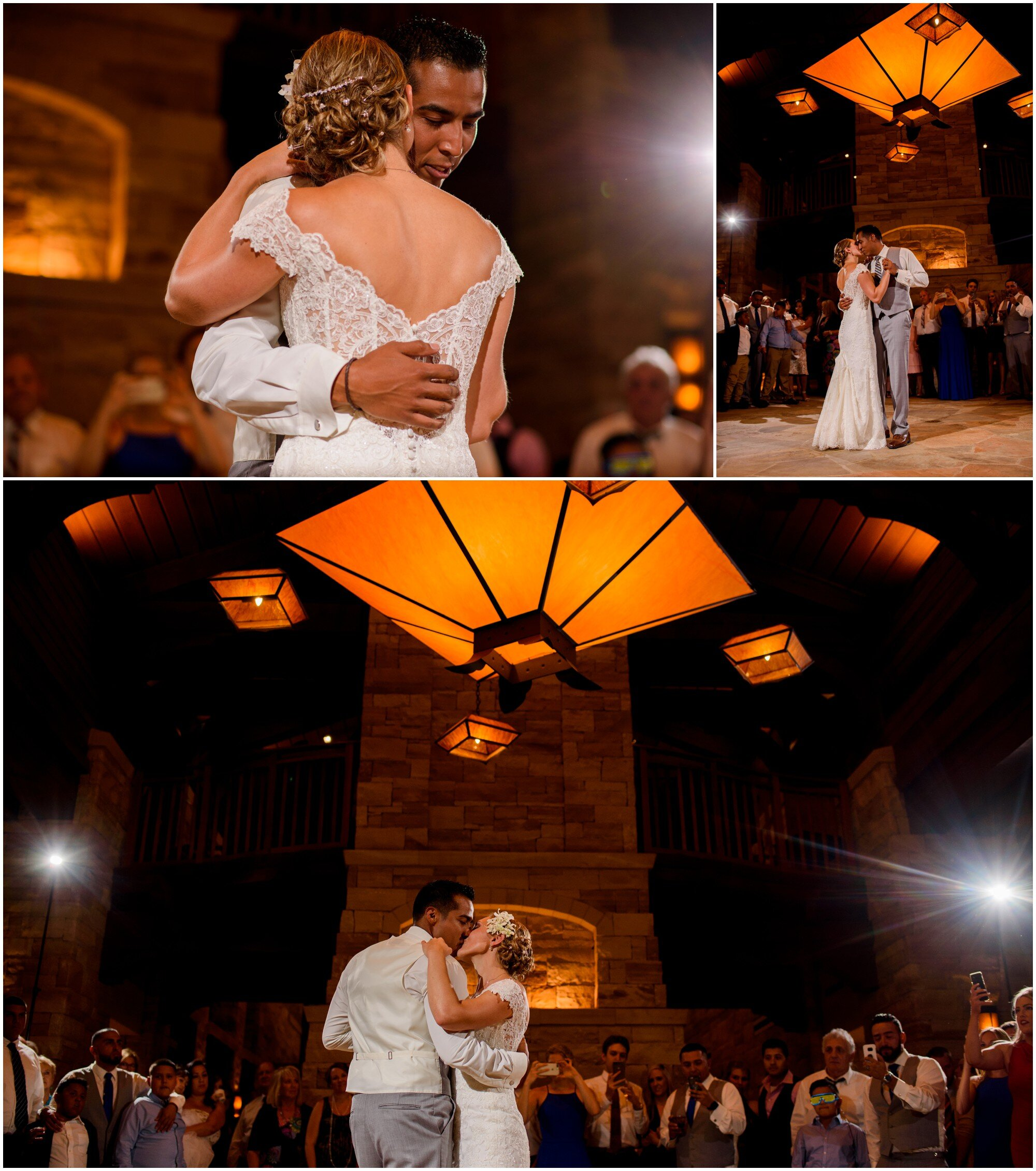first dance wedding pictures in sedalia, colorado