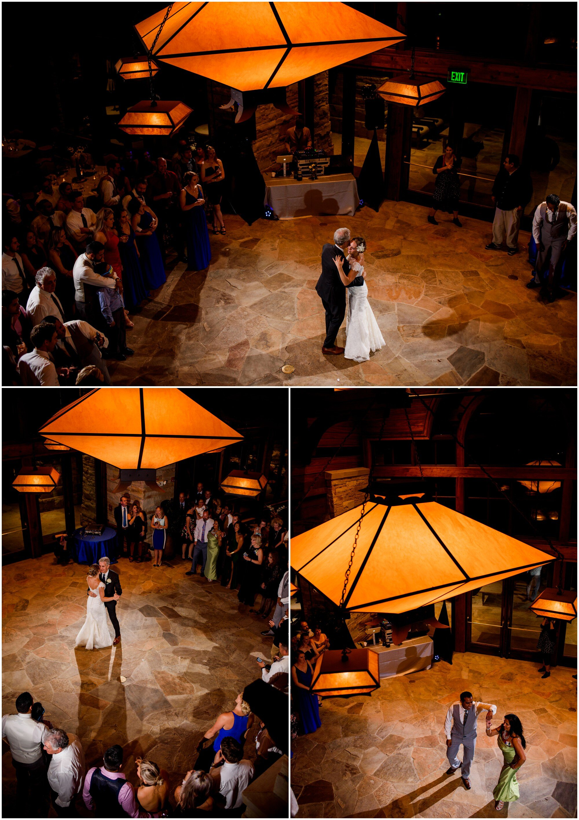 father daughter dance at sanctuary golf course