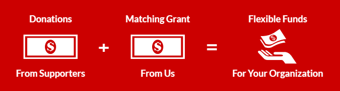 An example of how Matching funds work