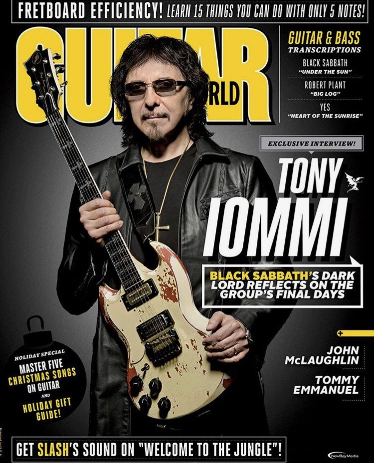 Guitar World Magazine 2017 Holiday