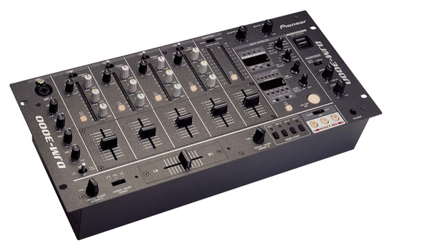 Pioneer DJM-3000 Channel Professional Audio Mixer
