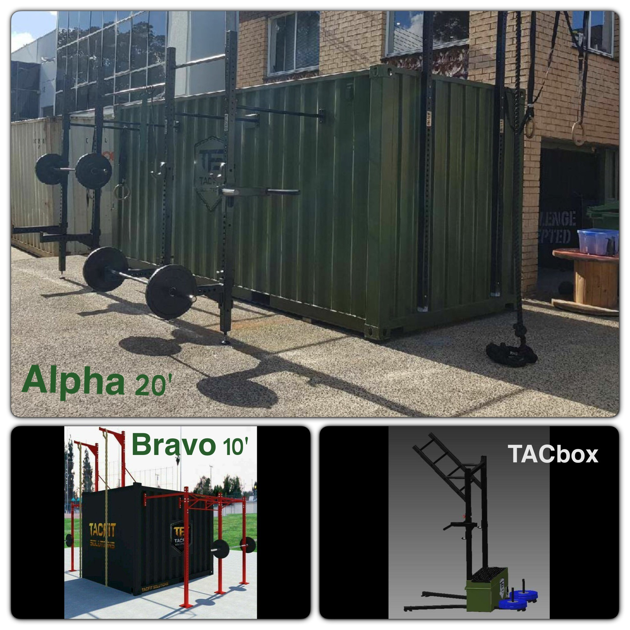 TacFit Solutions - Deployable Strength Training Facilities (DSTF)(As heard on 2UE radio with John Stanley Breakfast July 17, 2017)TacFit Solutions was born of a need identified during Leon and Luke's time in the Australian military.They wanted the ability to have a mobile strength and conditioning training facility that can be used outdoors in all weather in almost any location.MYbrainwave helped the TacFit team take the idea from concept to reality, by facilitating detailed planning including go to market strategies, sales and project planning. The MYbrainwave team provide coaching and mentoring and facilitate introductions through our network.