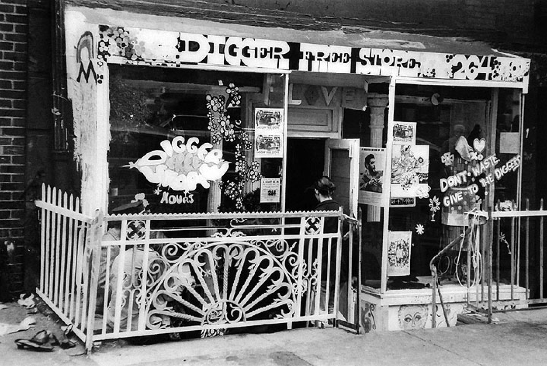 The digger's free store and their other activities in Sf in the 1960's Struck a Chord Dr. David Smith
