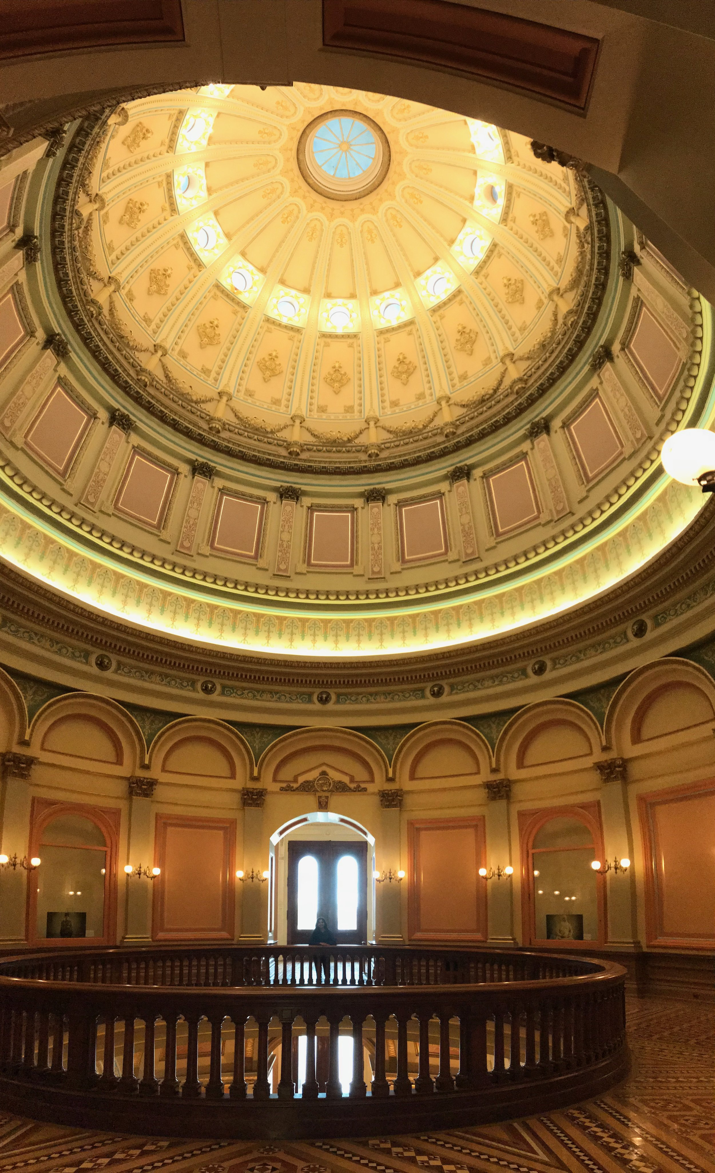 inside state capitol while lobbying on behalf of the BFC and other California free clinics