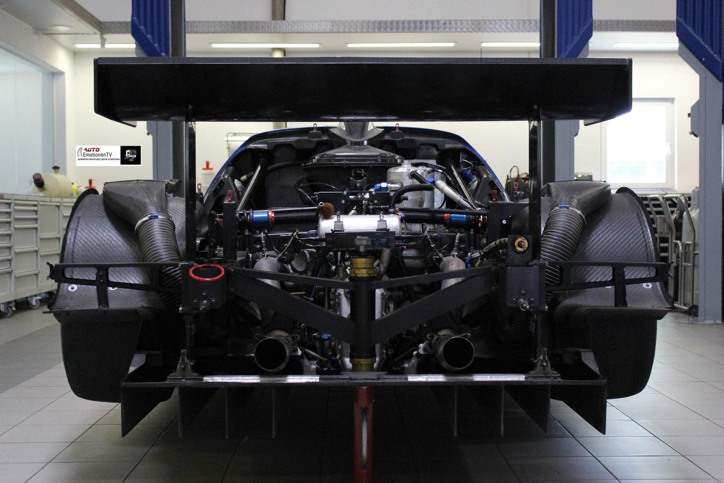 Maserati MC12 GT1 Sound Startup Engine Test - AutoEmotionenTV