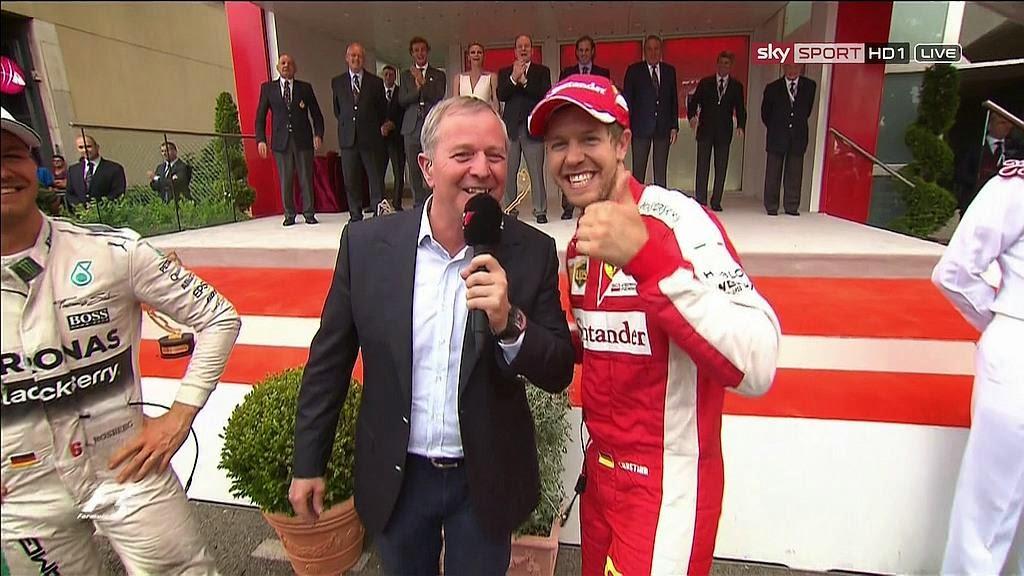 Vettel for the win!