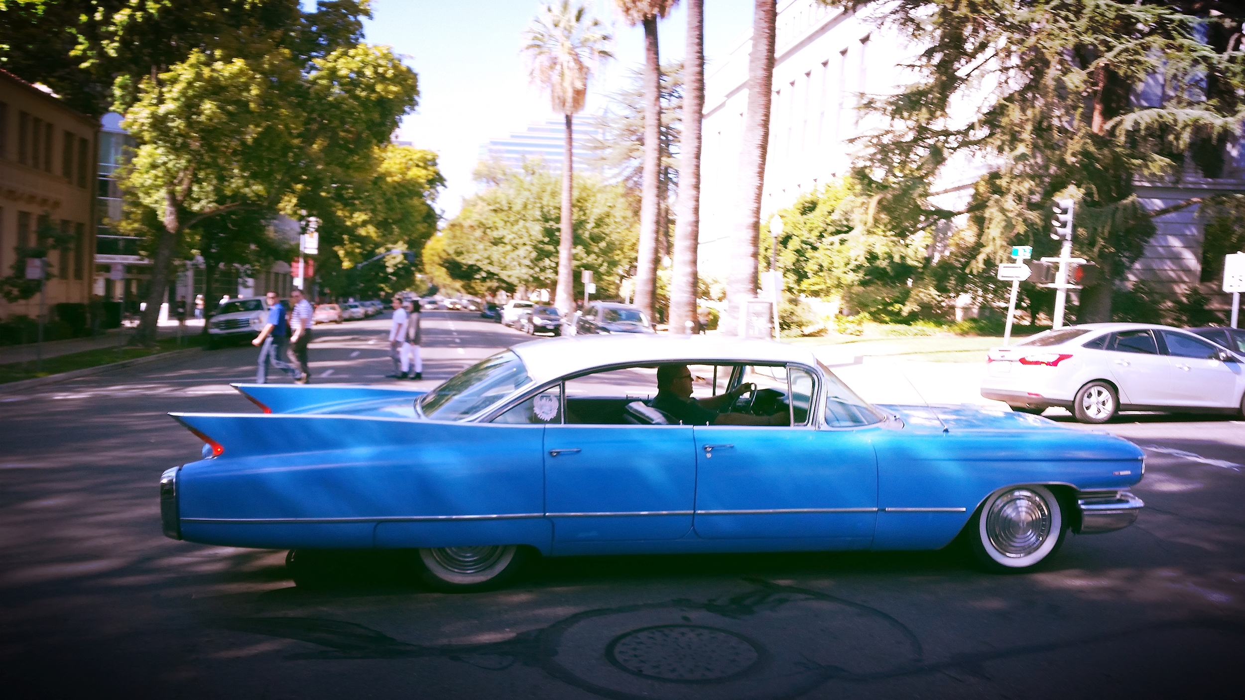 It took about a minute and a half to pass me.
