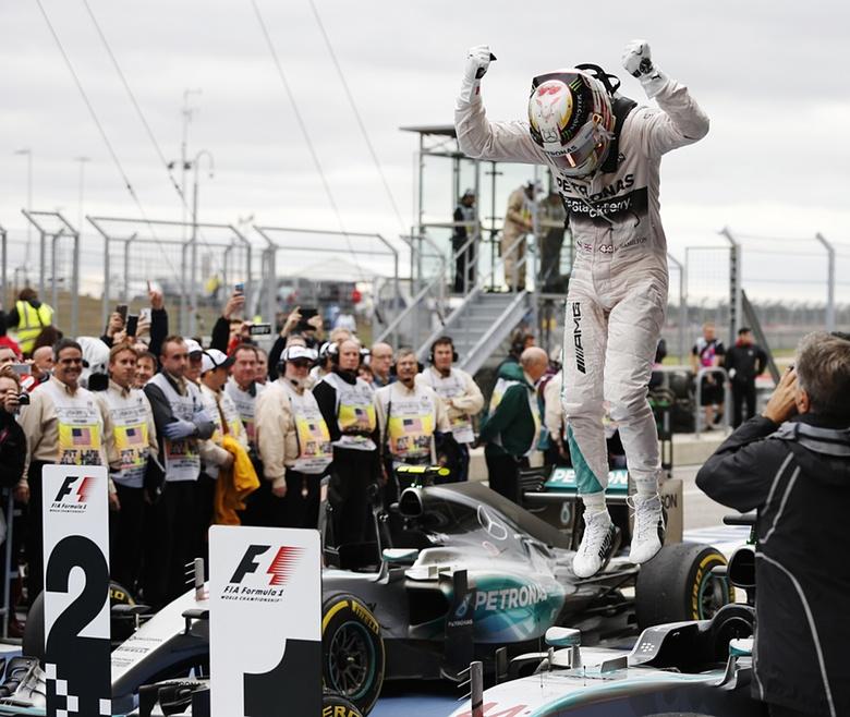 Lewis Hamilton, three times World Champion. Photograph: John Locher/AP