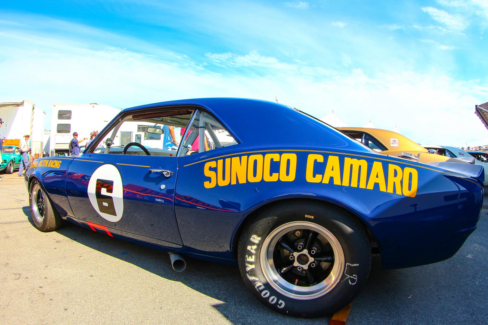 Penske Camero, Tran-Am Series. Shot from 2015 Monterey Motorsports Reunion.  ©Mark Farouk