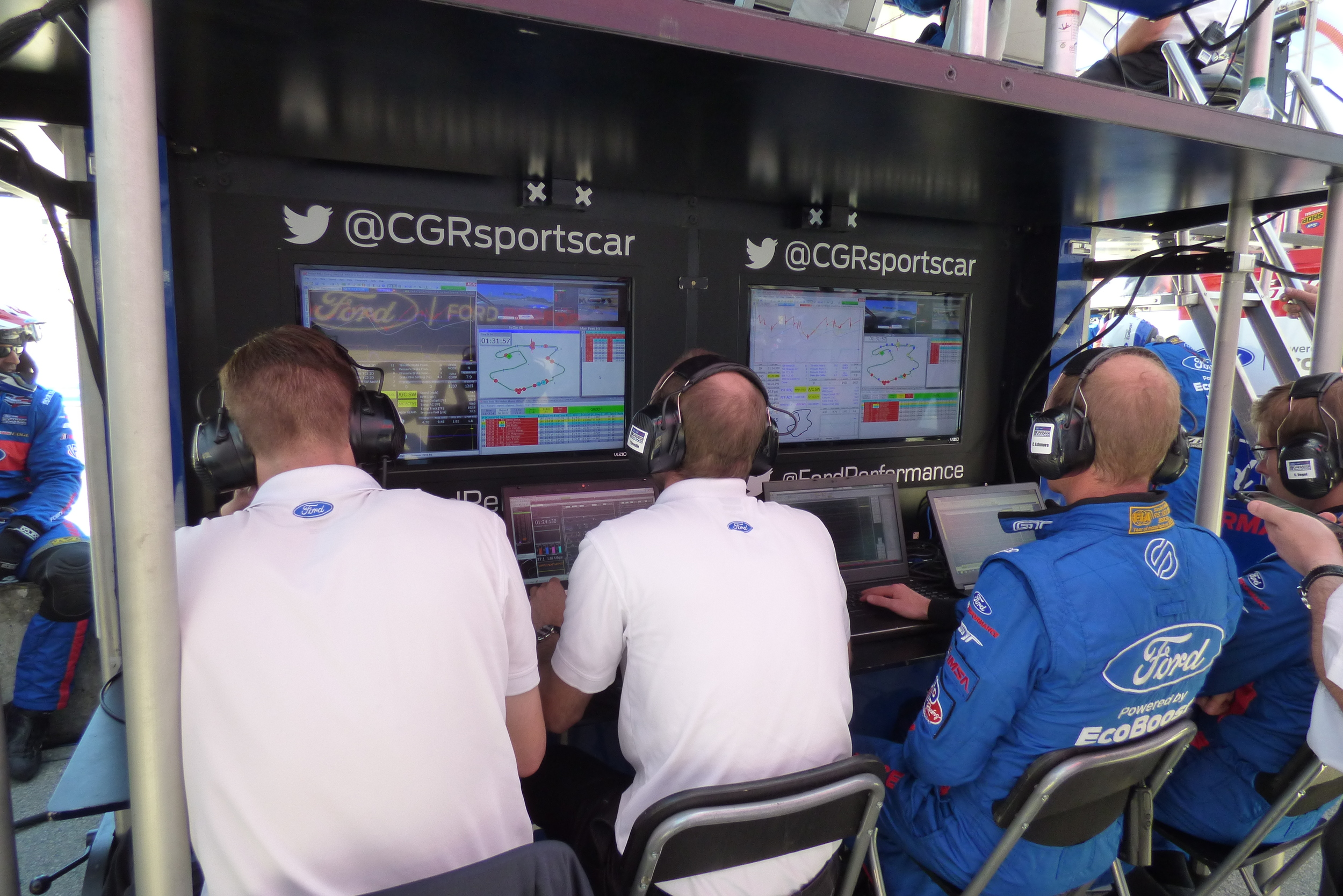 Team Ford Chip Ganassi Race Control.