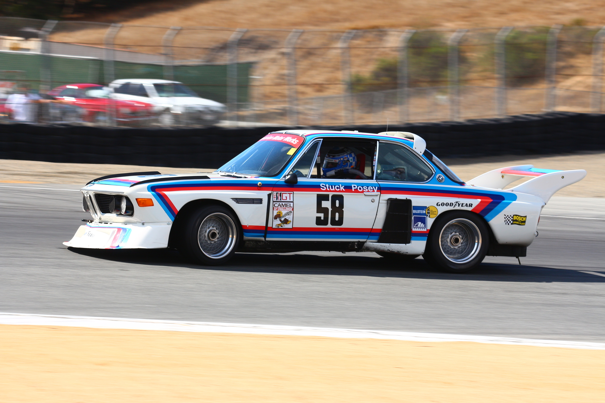 Just one of many BMWs that will be at Mazda Raceway Laguna Seca in August.