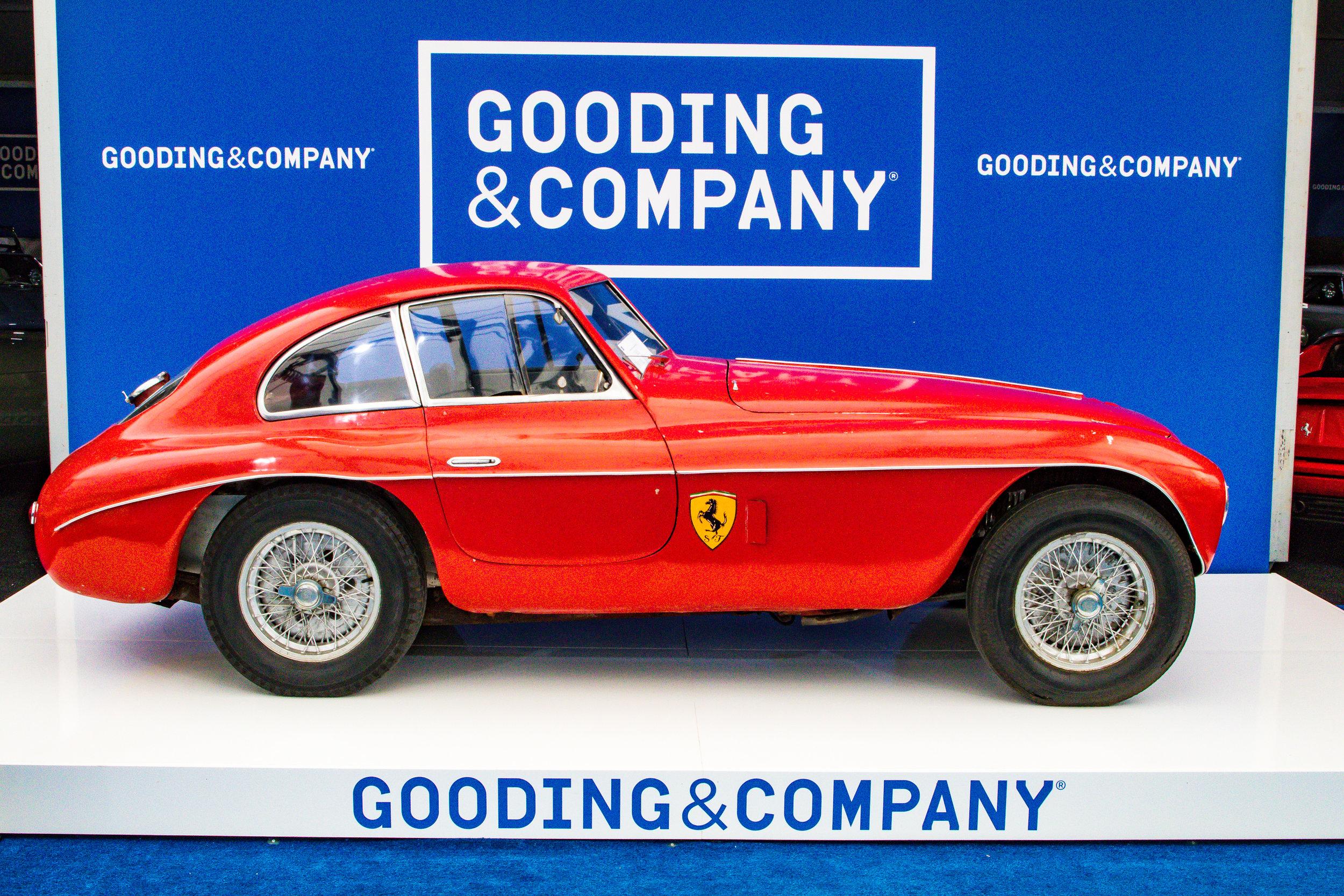 1950 Ferrari 166 mm Berlinetta-Sold for $5,445,000