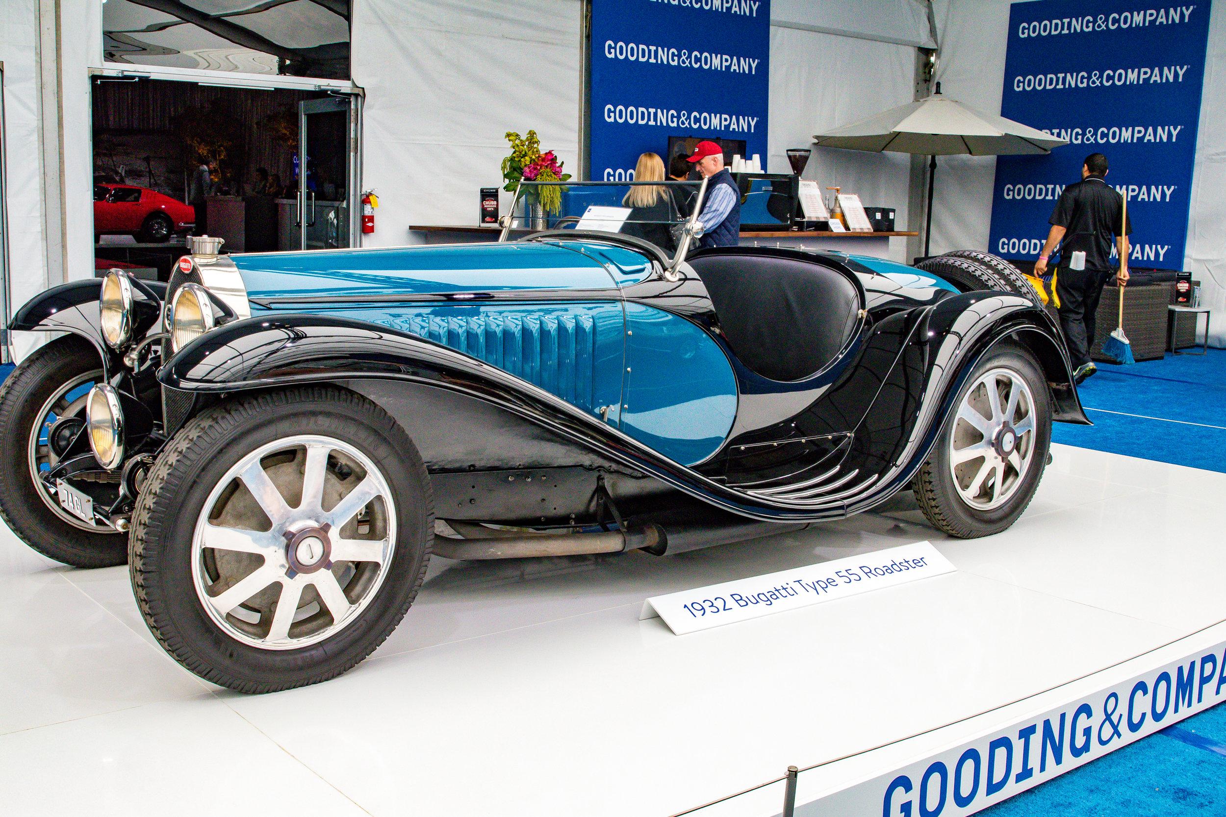 1932 Bugatti Type 55 Roadster-Sold for $10,400,000