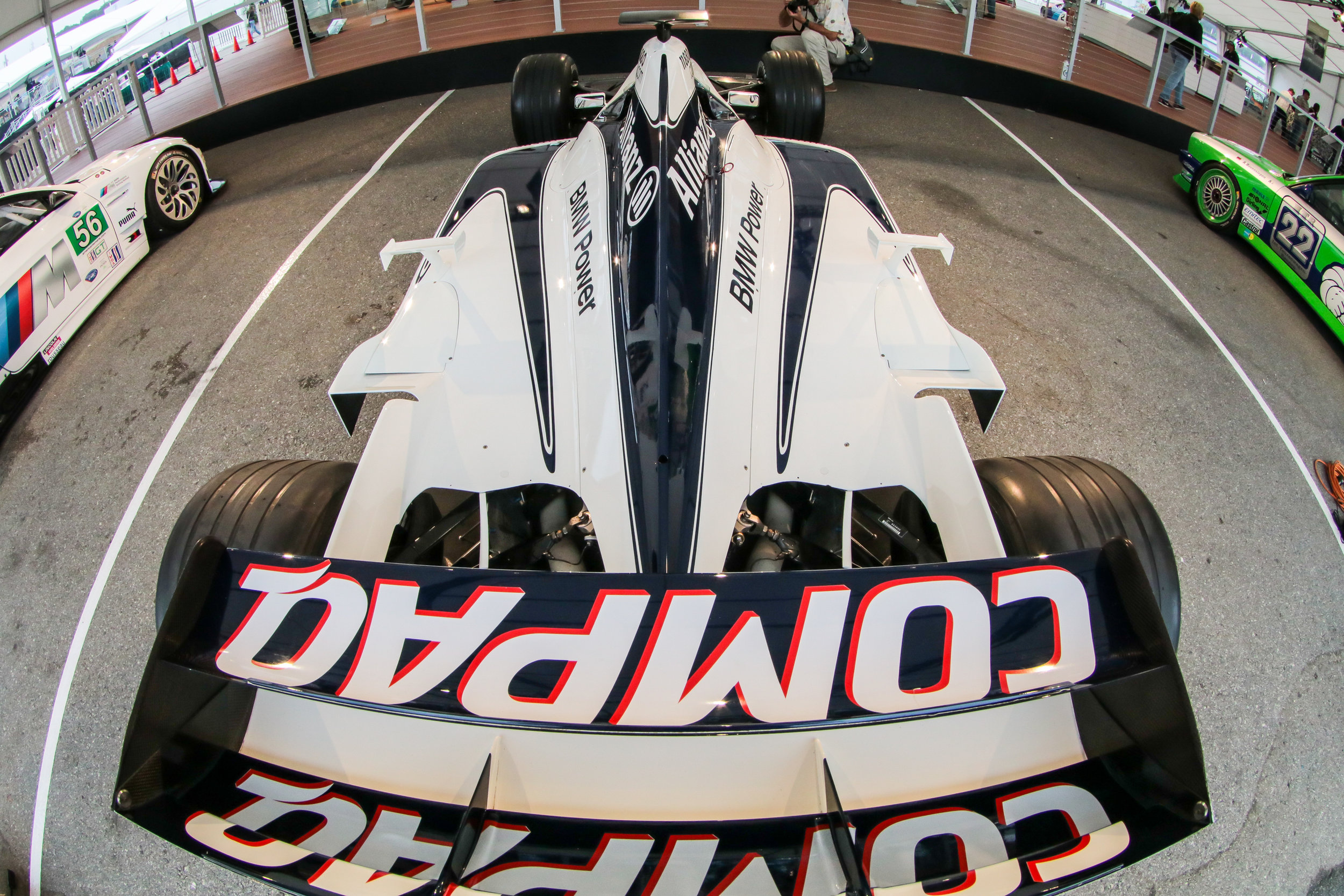 Ralf Schumacher's Williams-F1 car.