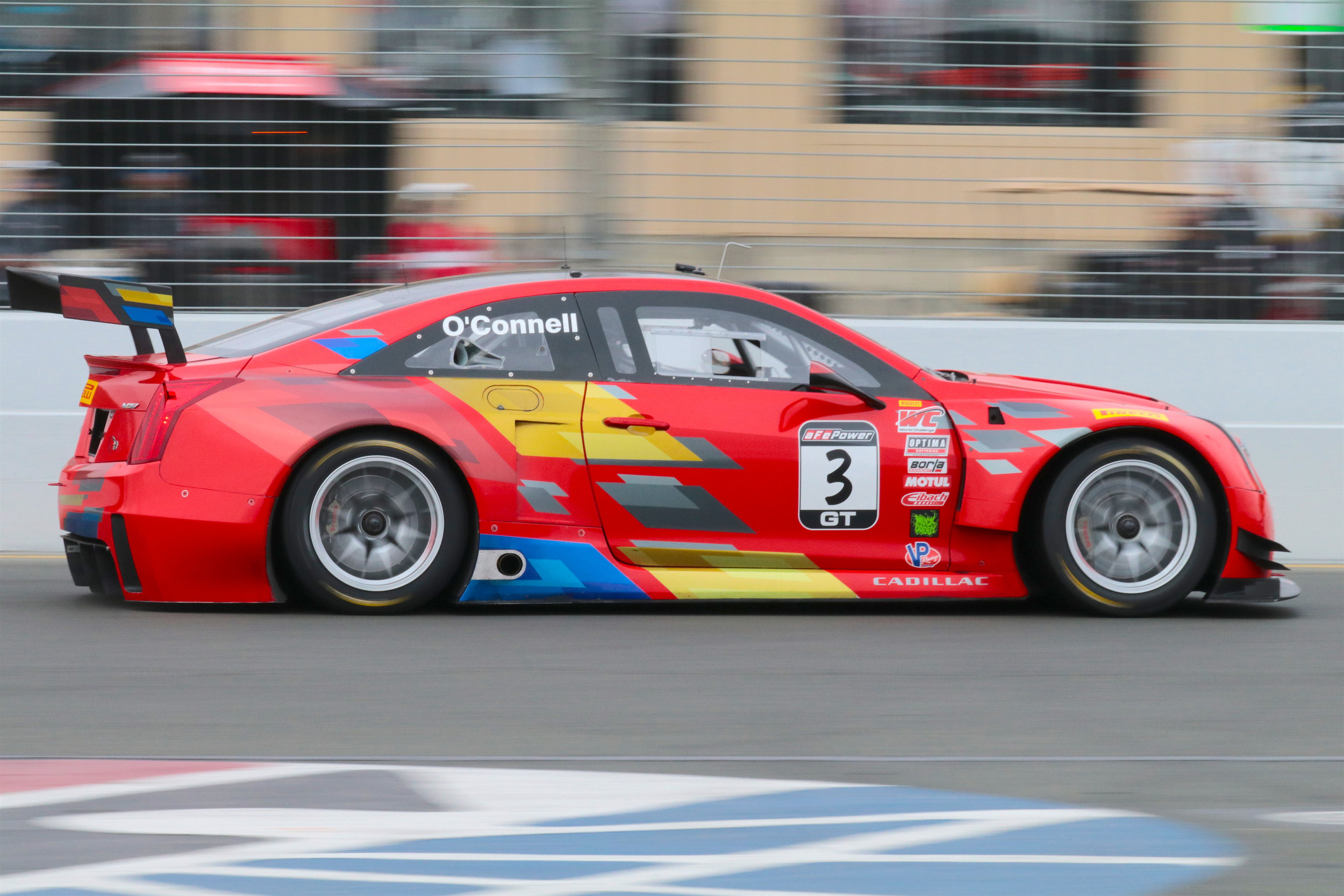 Johnny O'Connel in the Cadillac ATS VR Coupe