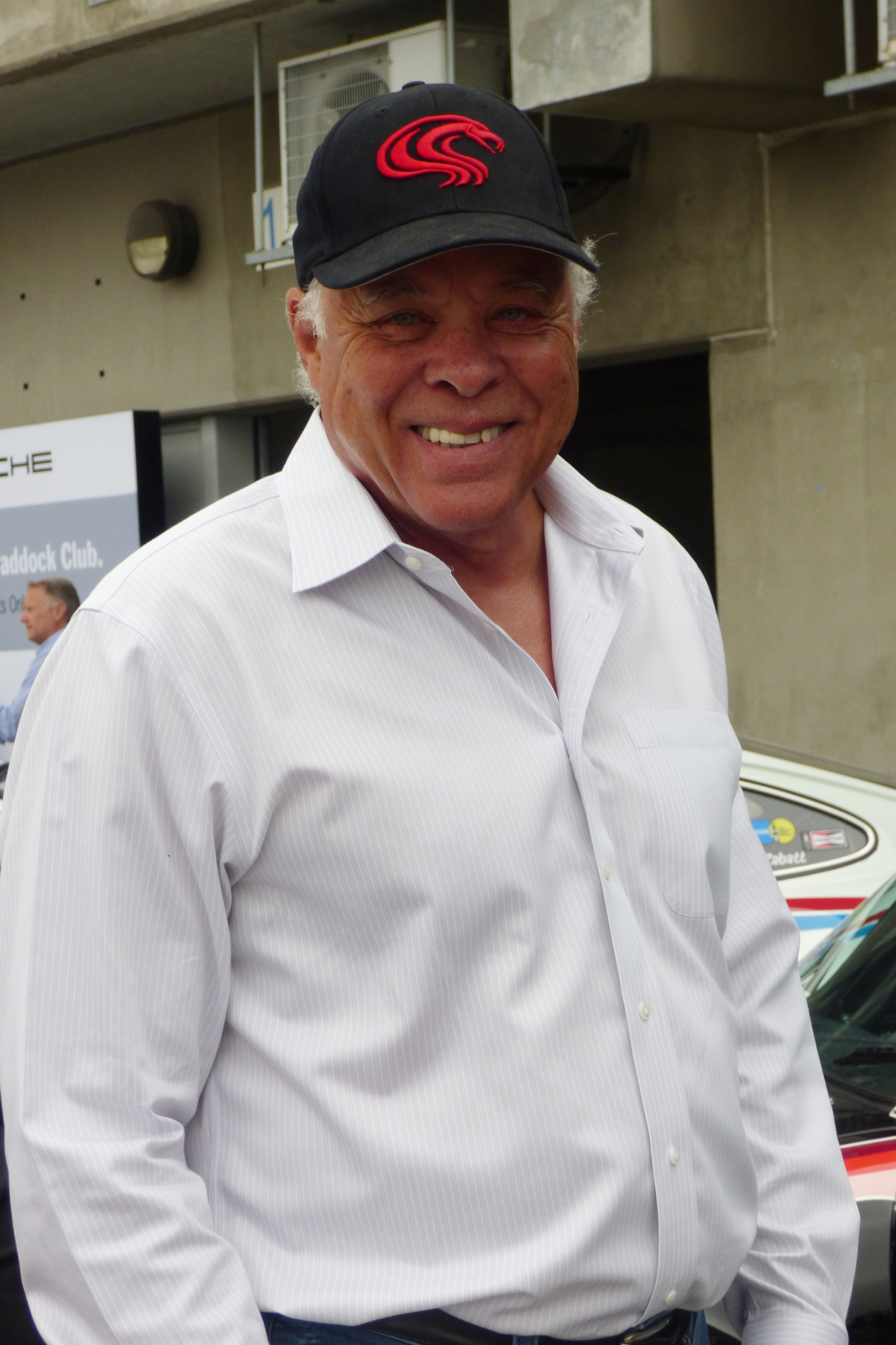 """Drag Racing Royalty: Don """"The Snake"""" Prudhomme admires Porsche's offerings"""