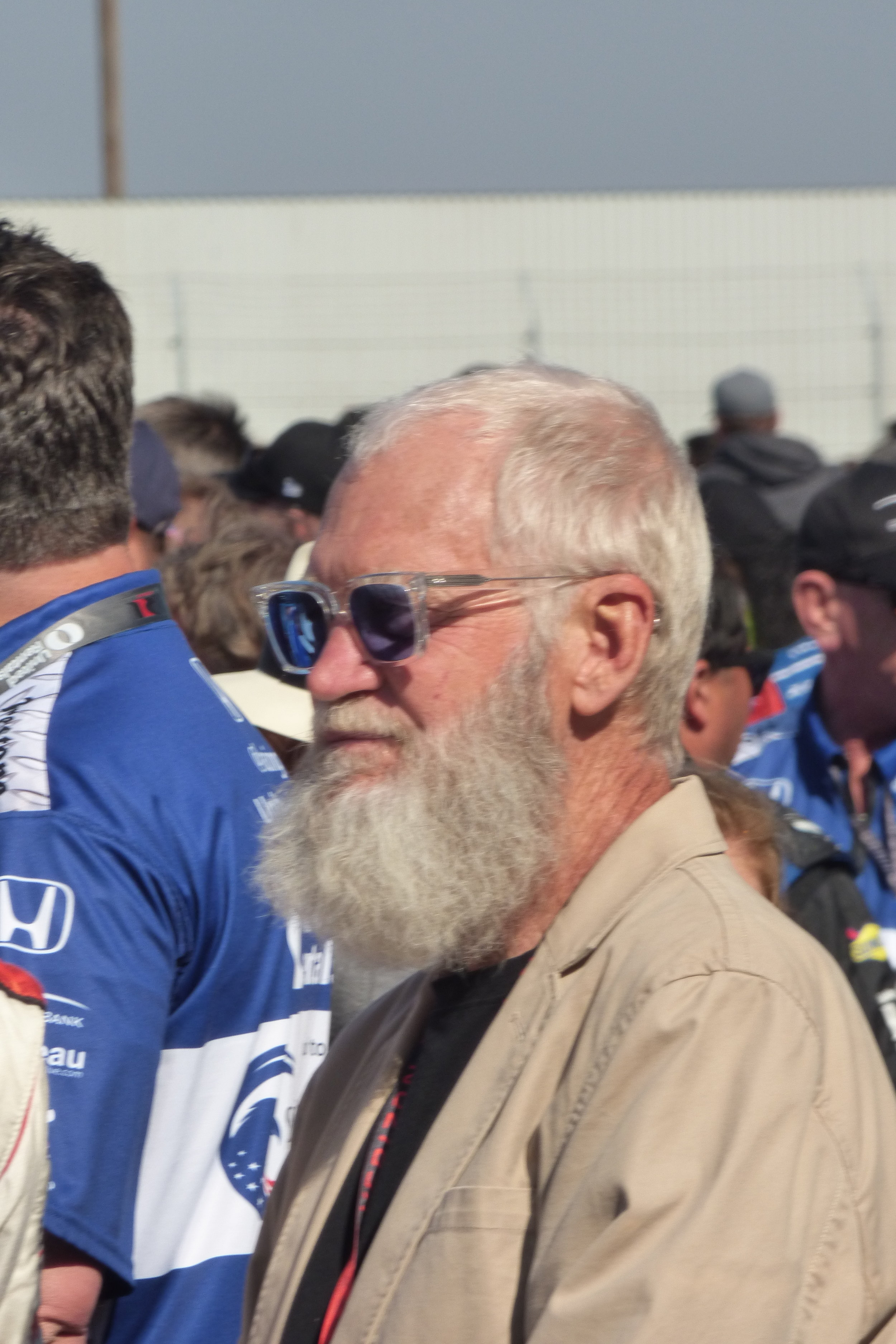 The King of Late Night and team owner David Letterman