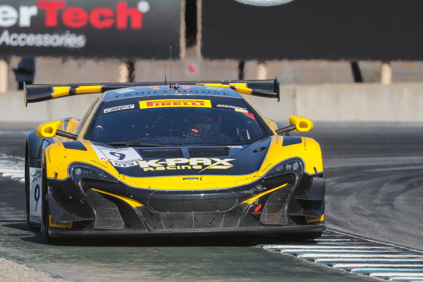 California's own K-Pax Racing McLaren.