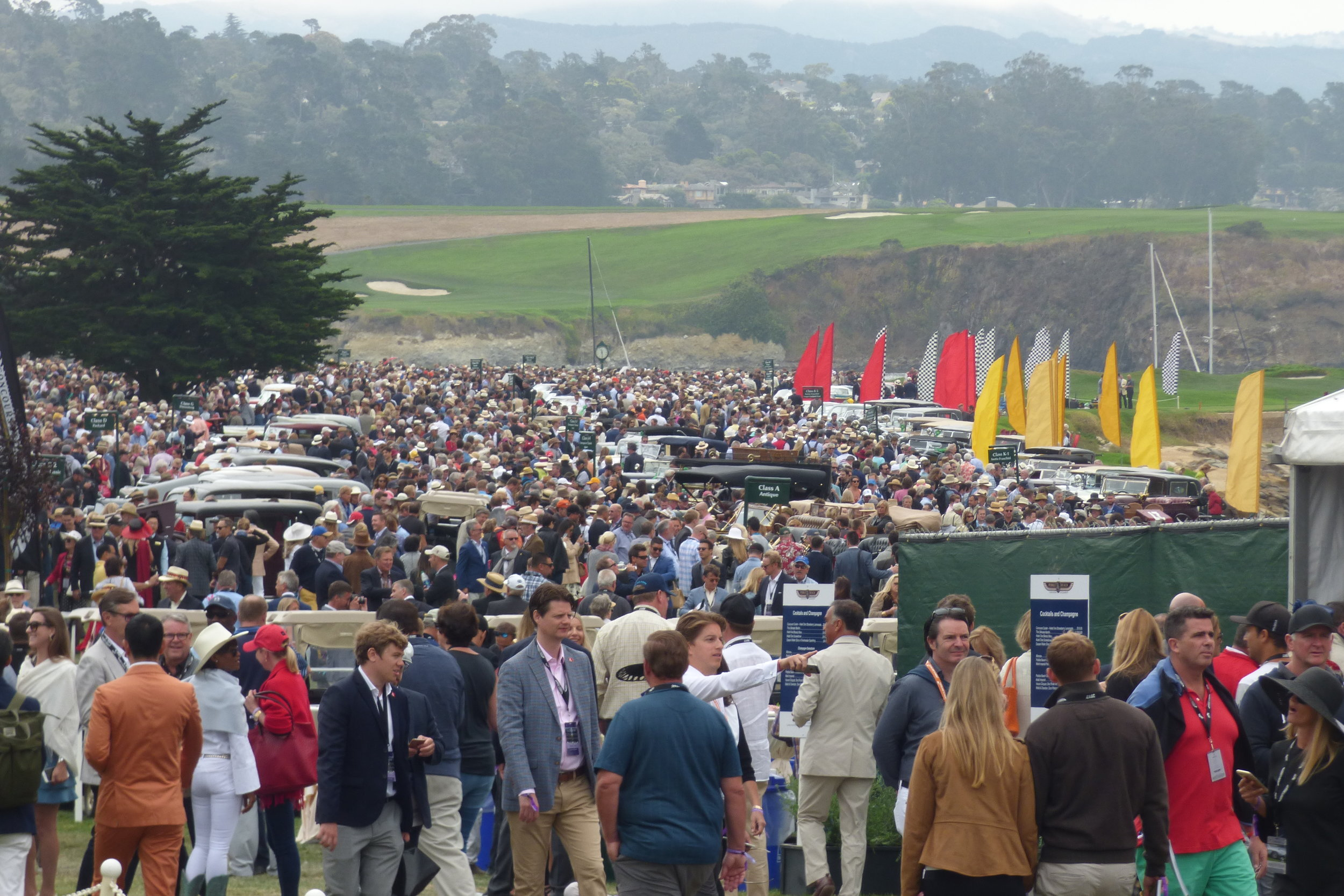 Pebble Beach Concours. This place is no joke.