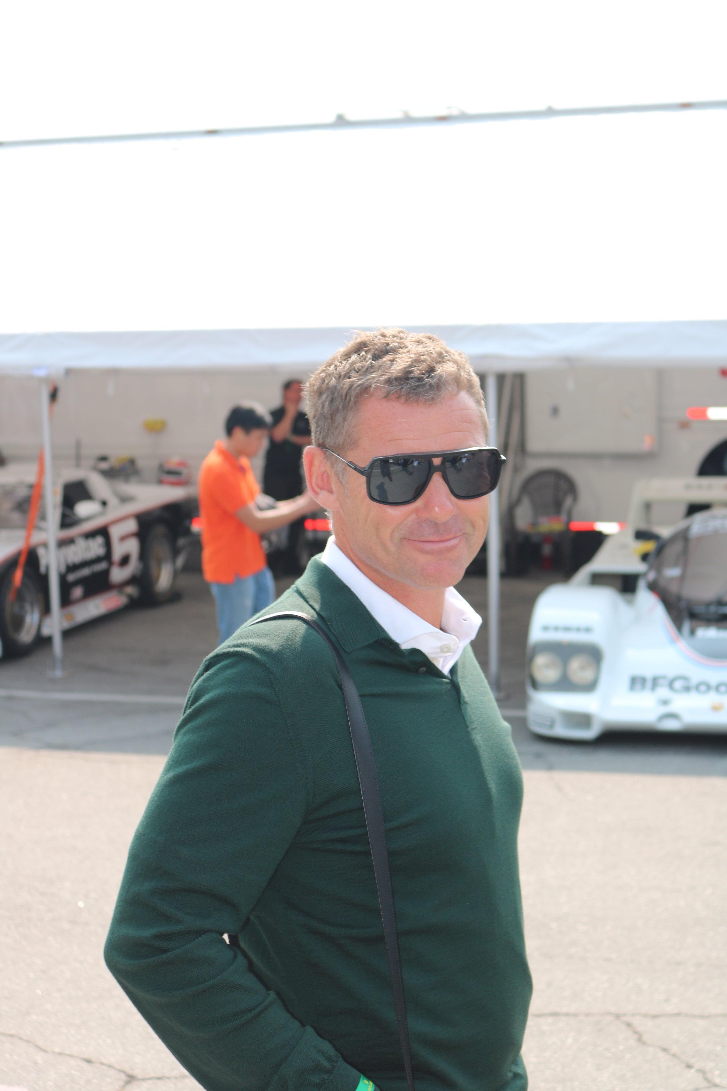 Nine time Le Mans winner Tom Kristensen