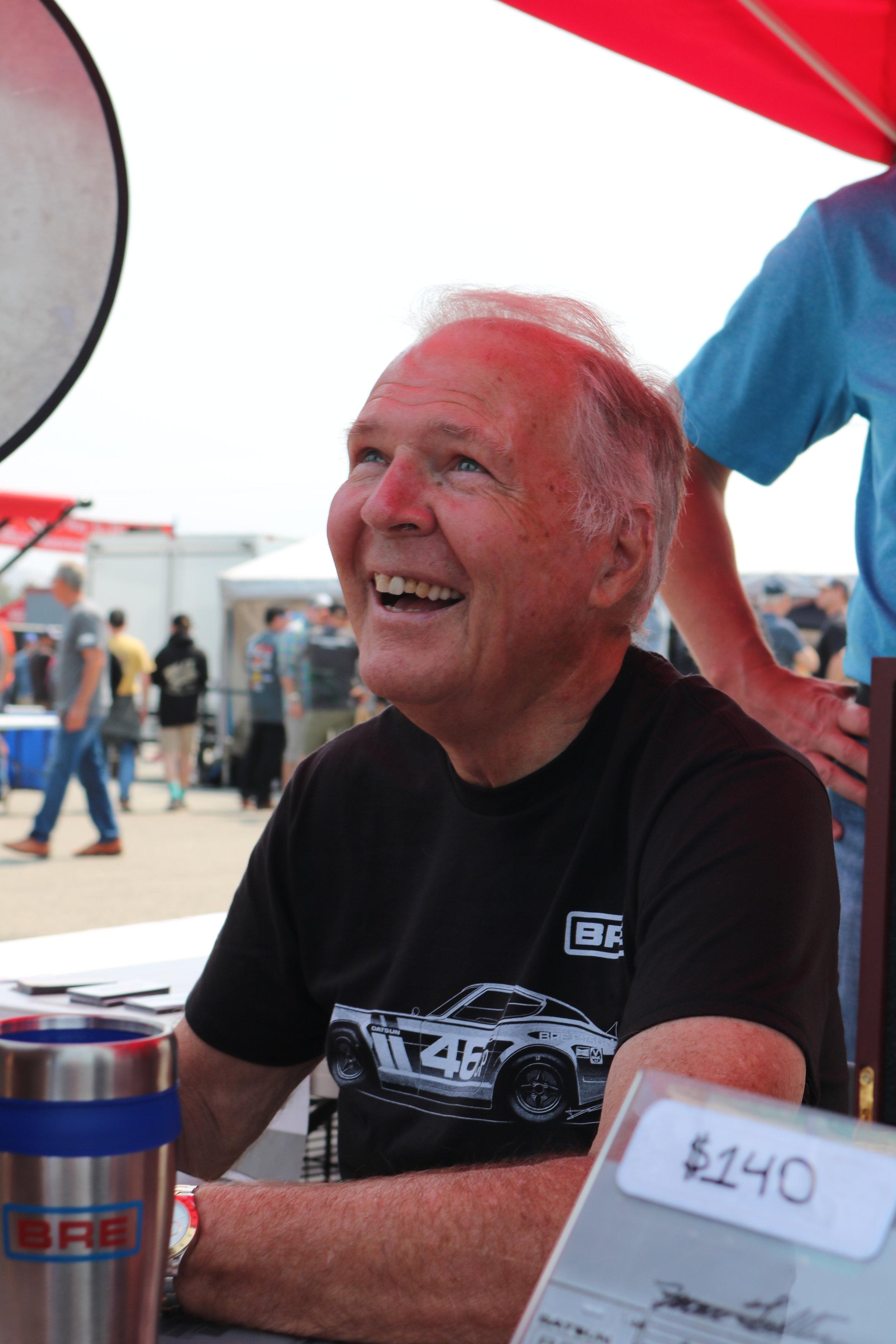 The Patron Saint of Datsun Racing, Peter Brock