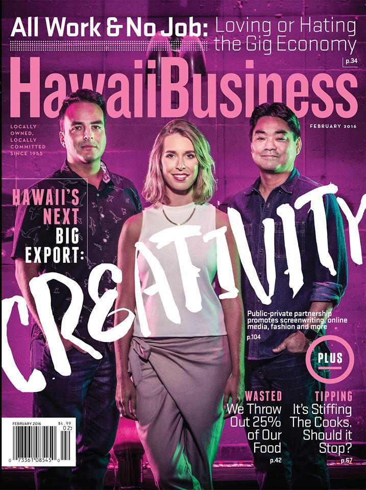 Hawaii Business Magazine Creativity