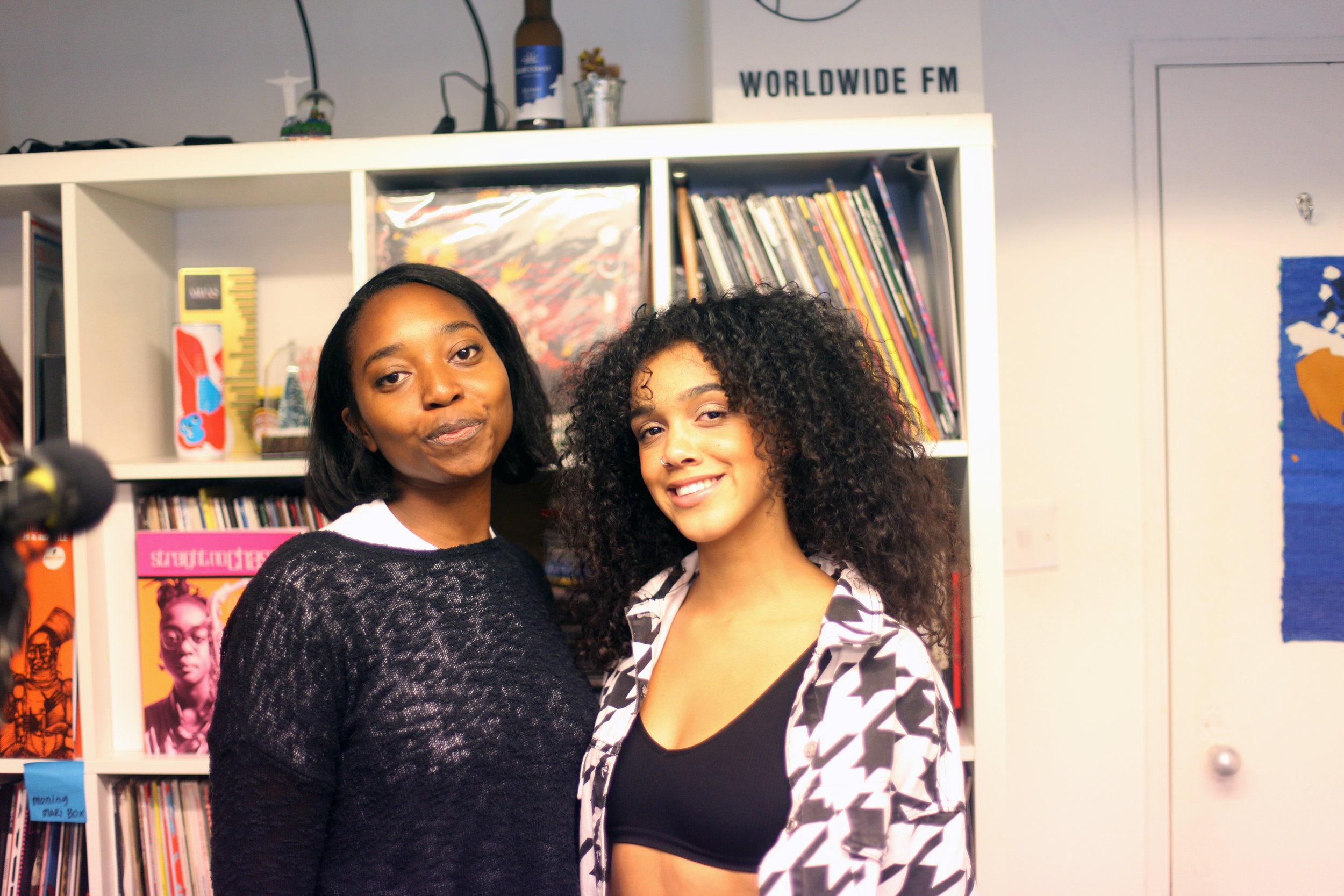 Erica McKoy and Ruby Francis