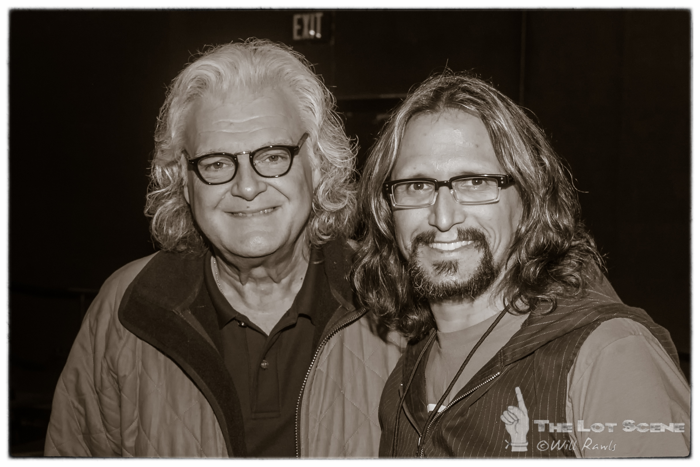 Ricky Skaggs and Parker Roe