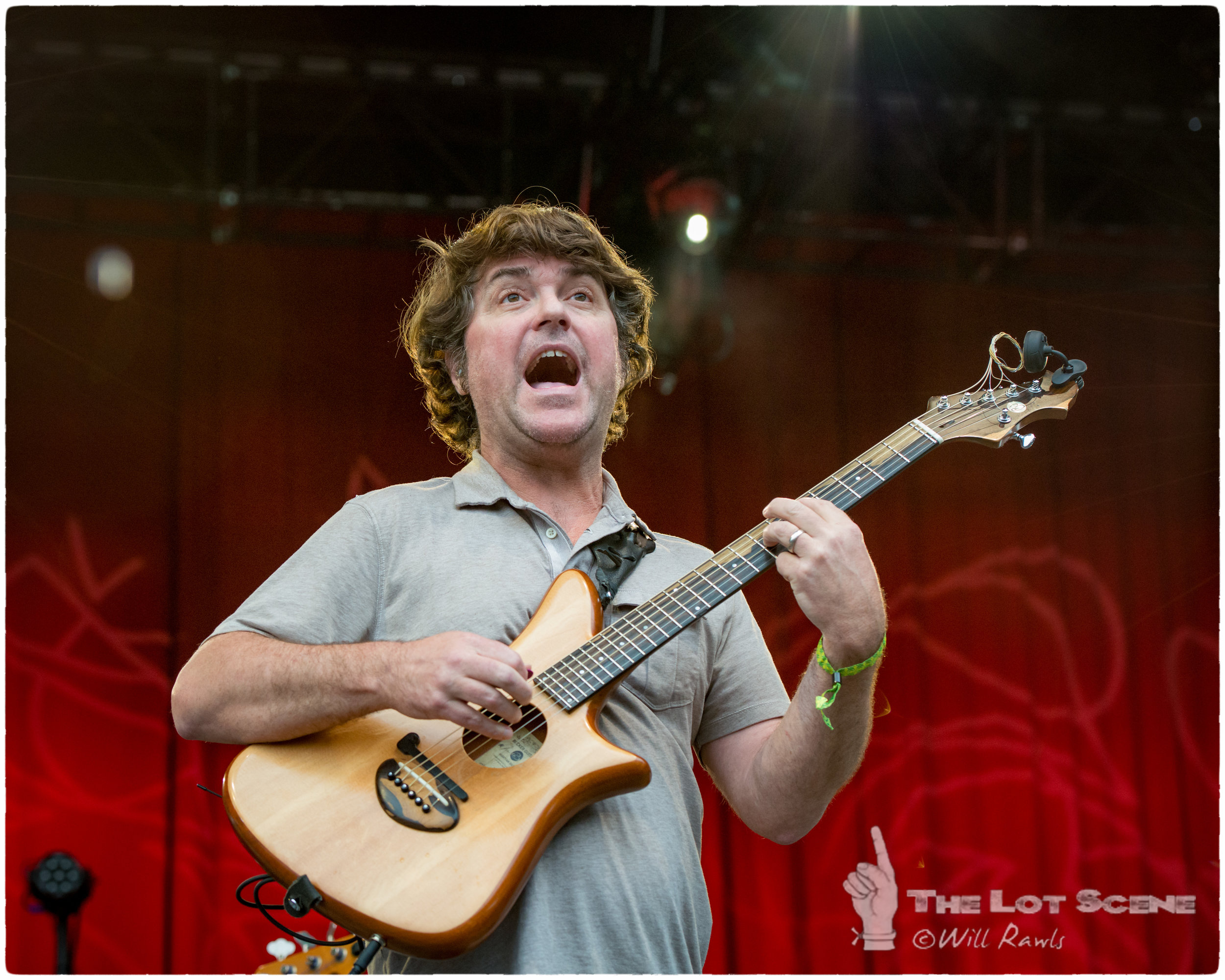 Keller Williams on the main stage @ DelFest 2016