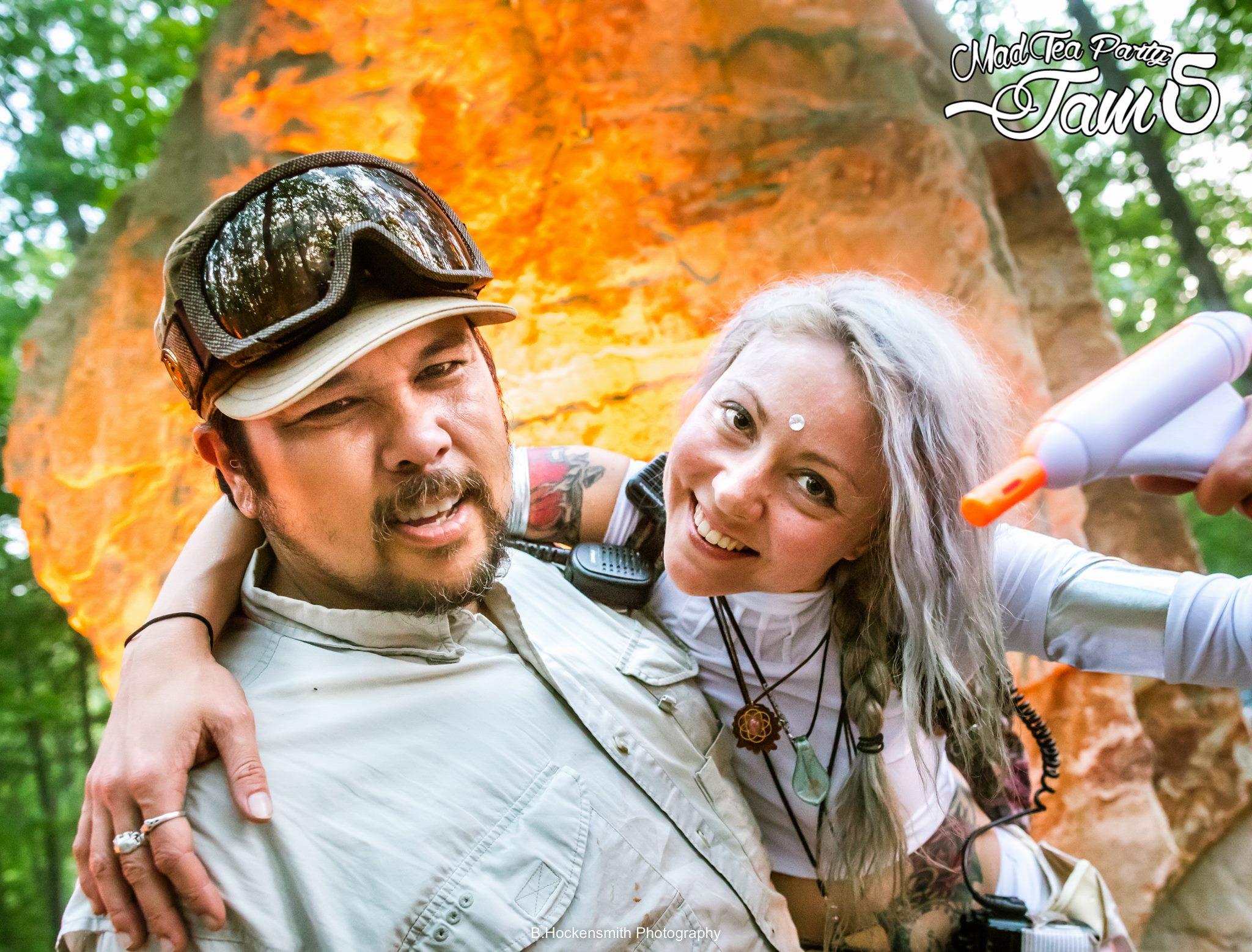 Taco & Elise Olmstead @ Mad Tea Party Jam 5 - Photo by Brian Hockensmith ( B. Hockensmith Photography )