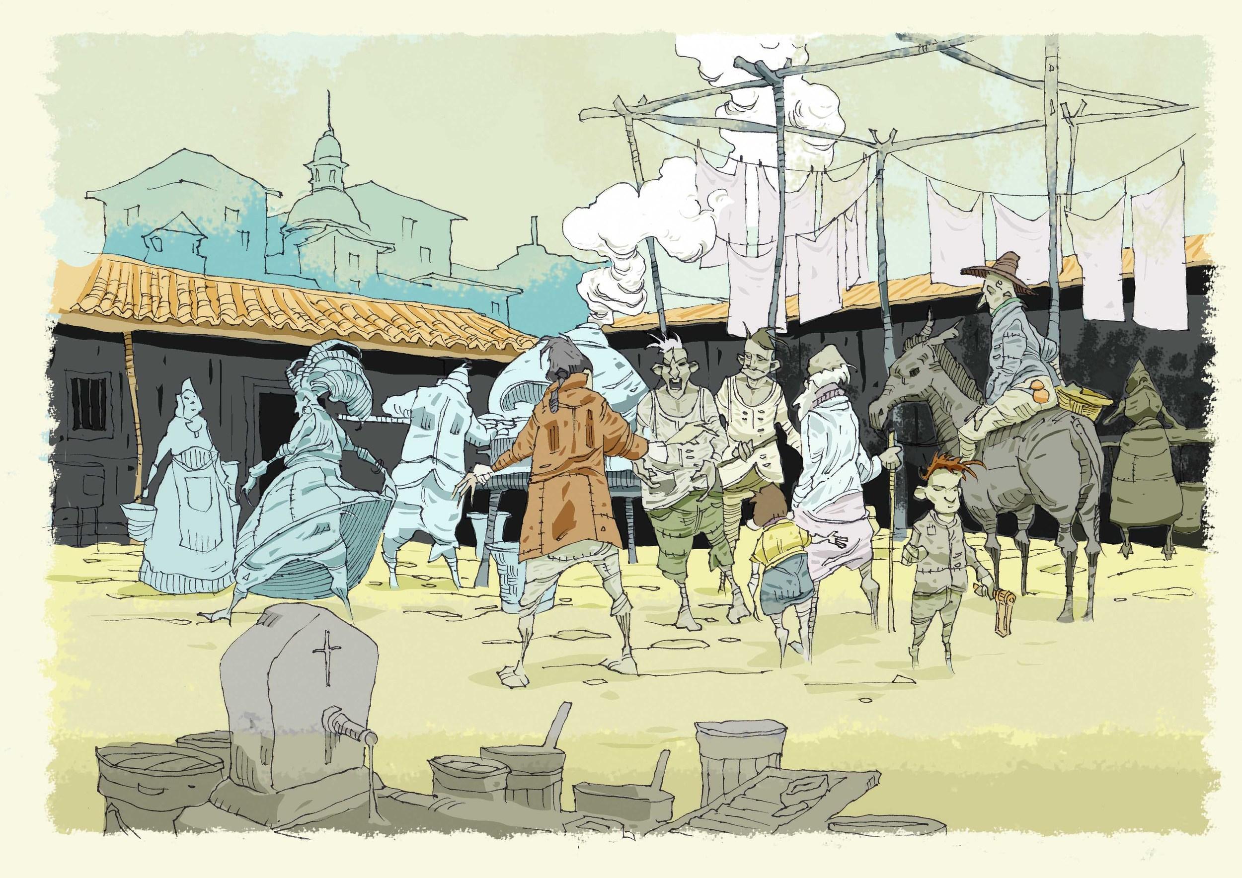 Illustration: Alberto de Arriba Guisande