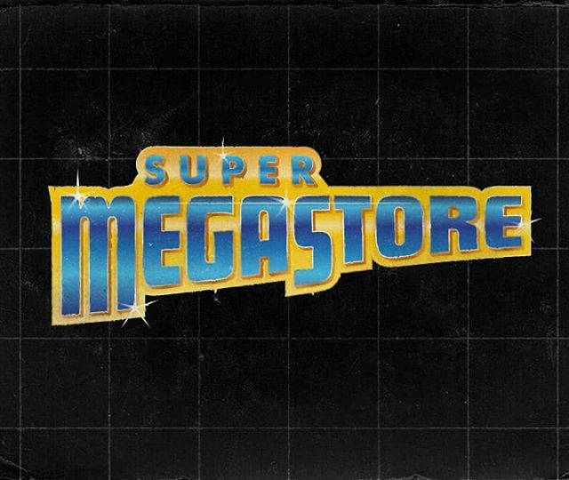 Logo for the retro game and console buyer and seller @supermegastoreuk  #logodesign #logo #logoinspiration #branding #retro #vintage #gaming