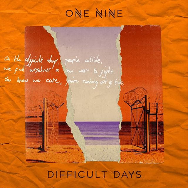 I made the artwork for the superb @oneninenoise Difficult Days is out today so go and buy and stream and enjoy