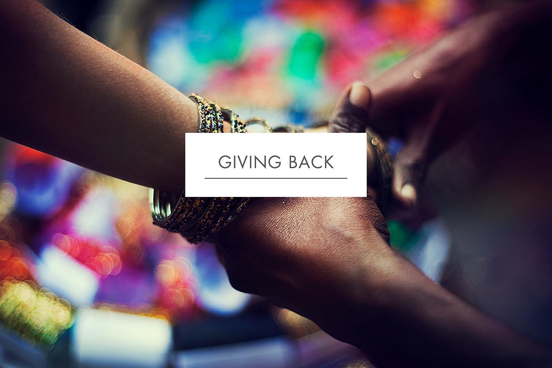 Silk merchants giving back program for Awareness Cambodia