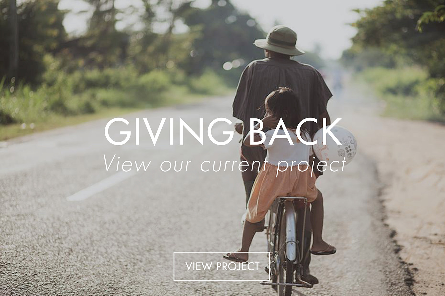 Silk Merchant | Giving Back